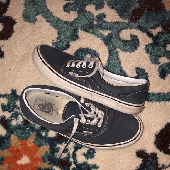 vans shoes men blue